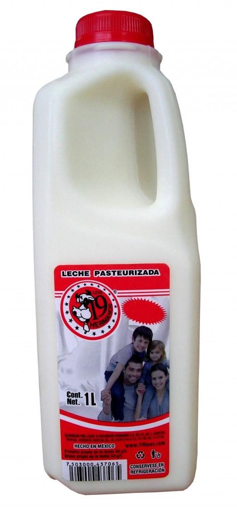 leche entera para: